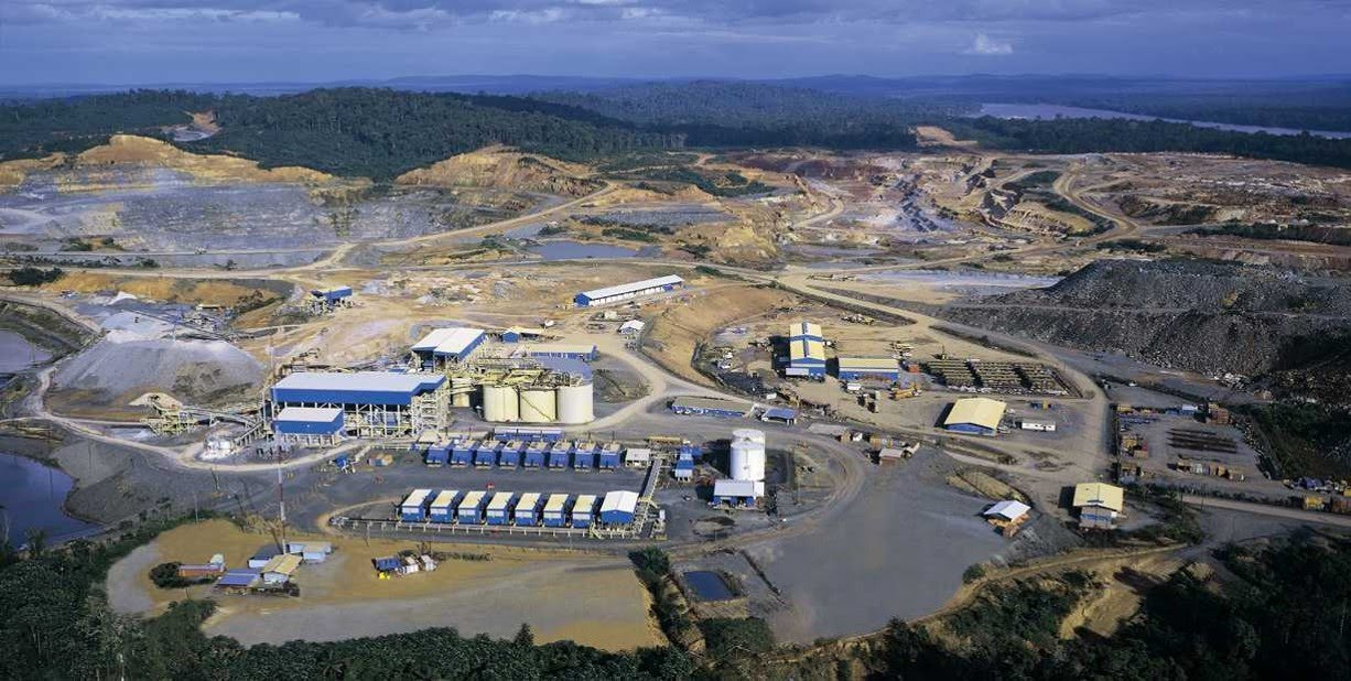 Omai Gold Mine, circa 2000